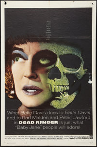 "Dead Ringer (Warner Brothers, 1964). One Sheet (27"" X 41""). Thriller"