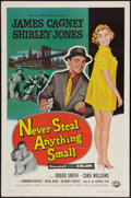 "Movie Posters:Crime, Never Steal Anything Small (Universal International, 1959). OneSheet (27"" X 41""). Crime.. ..."