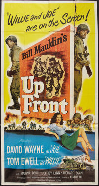 "Up Front (Universal, 1951). Three Sheet (41"" X 81""). Comedy"