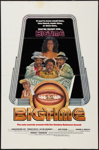 "Big Time (World Wide, 1977). One Sheet (27"" X 41""). Blaxploitation"