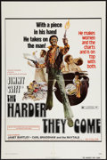 "Movie Posters:Blaxploitation, The Harder They Come (New World, 1973). One Sheet (27"" X 41"").Blaxploitation.. ..."