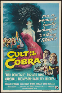 "Cult of the Cobra (Universal International, 1955). One Sheet (27"" X 41""). Horror"