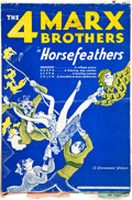 "Movie Posters:Comedy, Horse Feathers (Paramount, 1932). Cut Pressbook (Multiple Pages,9.5"" X 13.5"").. ..."