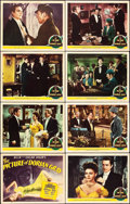 "Movie Posters:Horror, The Picture of Dorian Gray (MGM, 1945). Lobby Card Set of 8 (11"" X14"").. ... (Total: 8 Items)"