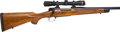 Long Guns:Bolt Action, .375 H&H Kimber Model 89 BGR Deluxe Model Bolt Action Riflewith Telescopic Sight. ...