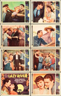 """Movie Posters:Drama, Lazy River (MGM, 1934). Lobby Card Set of 8 (11"""" X 14"""").. ...(Total: 8 Items)"""