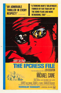 "The Ipcress File (Universal, 1965). One Sheet (27"" X 41"")"