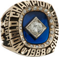 Baseball Collectibles:Others, 1988 Los Angeles Dodgers World Championship Ring....