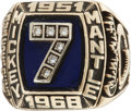 Baseball Collectibles:Others, 1980's Mickey Mantle Career Ring....