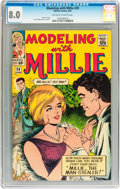 Silver Age (1956-1969):Romance, Modeling with Millie #39 (Marvel, 1965) CGC VF 8.0 Off-white to white pages....