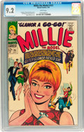 Silver Age (1956-1969):Miscellaneous, Millie the Model #151 (Atlas/Marvel, 1967) CGC NM- 9.2 Whitepages....