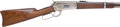 Long Guns:Lever Action, Scarce Winchester Model 1886 Lever Action Saddle Ring Carbine....