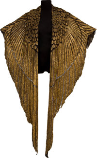 """The Elizabeth Taylor Ceremonial Cape from """"Cleopatra."""""""