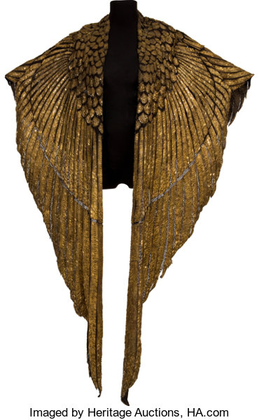 The Elizabeth Taylor Ceremonial Cape From Cleopatra Movie Tv Lot 46015 Heritage Auctions