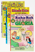 Modern Age (1980-Present):Humor, Richie Rich and Gloria File Copies Group (Harvey, 1977-82)Condition: Average NM-.... (Total: 72 Comic Books)