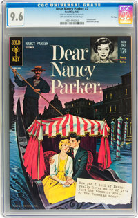 Dear Nancy Parker #2 File Copy (Gold Key, 1963) CGC NM+ 9.6 Off-white to white pages