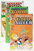 Bronze Age (1970-1979):Cartoon Character, Richie Rich Gold and Silver #2-42 File Copies Box Lot (Harvey, 1975-82) Condition: Average NM-....