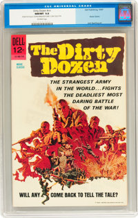 Movie Classics: The Dirty Dozen #nn (Dell, 1967) CGC NM/MT 9.8 Off-white pages