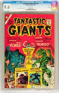 Fantastic Giants V2#24 Curator pedigree (Charlton, 1966) CGC NM+ 9.6 White pages