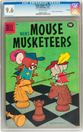 Silver Age (1956-1969):Cartoon Character, Four Color #1175 MGM's Mouse Musketeers - File Copy (Dell, 1961) CGC NM+ 9.6 Off-white pages....