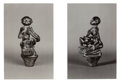 Photographs:Contemporary, WALKER EVANS (American, 1903-1975). African Wood Sculptures(five photographs), date unknown. Gelatin silver. 5-1/2 x 3-...(Total: 4 Items)