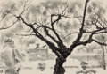 Fine Art - Work on Paper:Print, LOUIS LOZOWICK (American, 1892-1973). Sick Tree, Cameron Field, 1947. Lithograph. Image: 8-1/2 x 12 inches (21.6 x 30.5 ...