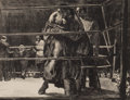 Fine Art - Work on Paper:Print, ROBERT RIGGS (American, 1896-1970). Trial Horse, 1932.Lithograph. Image: 13-1/2 x 17-1/4 inches (34.3 x 43.8 cm).Sight...