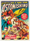 Golden Age (1938-1955):Science Fiction, Astonishing #5 (Atlas, 1951) Condition: VG....