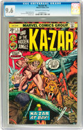 Bronze Age (1970-1979):Adventure, Ka-Zar #5 (Marvel, 1974) CGC NM+ 9.6 Off-white to white pages....