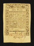 Colonial Notes:Rhode Island, Rhode Island May 1786 £3 About New.. ...