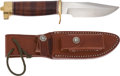 Edged Weapons:Knives, Randall Model 23-4 1/2 Gamemaster Knife with Scabbard....