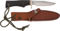 Edged Weapons:Knives, Randall Model 5-4 Camp and Trail Knife with Scabbard...