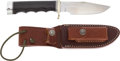 Edged Weapons:Knives, Randall Model 23 GameMaster Knife and Scabbard. ...