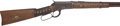 Long Guns:Lever Action, Winchester Model 1892 Lever Action Saddle Ring Carbine With Indian Tacks....