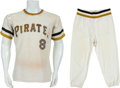 Baseball Collectibles:Uniforms, Early 1970's Willie Stargell Game Worn Pittsburgh PiratesUniform....