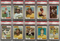 Baseball Cards:Sets, 1974 Topps Baseball High Grade Master Set (745) With Traded Set, Team Checklists and Washington Variations. ...