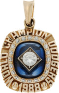 Baseball Collectibles:Others, 1988 Los Angeles Dodgers World Championship Pendant....