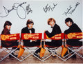 Music Memorabilia:Autographs and Signed Items, A Monkees Signed Photo....