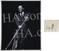 Movie/TV Memorabilia:Memorabilia, A Frank Sinatra Original Negative by PoPsie Randolph, withCopyright....