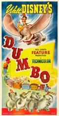 "Movie Posters:Animation, Dumbo (RKO, 1941). Three Sheet (41"" X 81"").. ..."