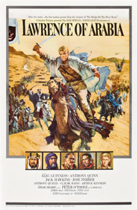 "Lawrence of Arabia (Columbia, 1962). One Sheet (27"" X 41"") Roadshow Style A"