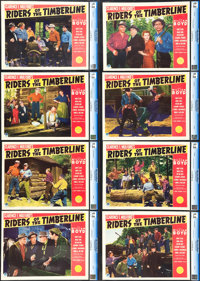 "Riders of the Timberline (Paramount, 1941). CGC Graded Lobby Card Set of 8 (11"" X 14""). ... (Total: 8 Items)"