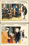 "Movie Posters:Drama, Sparrows (United Artists, 1926). Lobby Cards (2) (11"" X 14"").. ...(Total: 2 Items)"