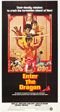 "Movie Posters:Action, Enter the Dragon (Warner Brothers, 1973). Three Sheet (41"" X 81"")....."