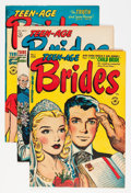 Golden Age (1938-1955):Romance, Teen-Age Brides and Others File Copies Group (Harvey, 1953-58)Condition: Average VF.... (Total: 22 Comic Books)