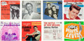 Music Memorabilia:Recordings, 1950s/1960s EPs and Pictures Sleeves (1957-68).... (Total: 8 Items)