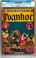 Golden Age (1938-1955):Classics Illustrated, Classic Comics #2 Ivanhoe - first edition (Elliot, 1941) CGC VG+4.5 Cream to off-white pages....