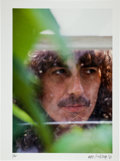 Music Memorabilia:Photos, George Harrison Limited Edition Mike Salisbury Photo Print#1/25....