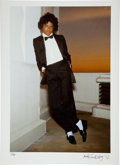 Music Memorabilia:Photos, Michael Jackson Large Format Test Photo from Off the WallLimited Edition Print #1/25....