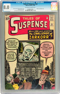 Silver Age (1956-1969):Mystery, Tales of Suspense #35 (Marvel, 1962) CGC VF 8.0 Off-white to whitepages....